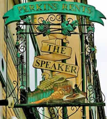 Inn Sign Society - The Speaker - London